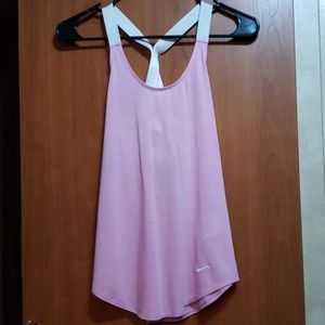 Strappy back Nike Dri-Fit tank top (never worn)